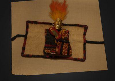 Estatuilla ex-voto, Museo de Sitio Pachacamac