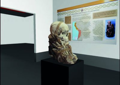 Videojuego museo leymebamba